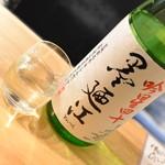 加賀能登の旬彩と地酒 ななお - 墨廼江・120cc(500円+税)2018年11月