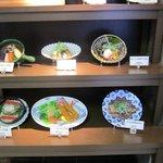 9855068 - ランチメニューの中から店頭に飾ってあった「茄子ぶた味噌炒め定食」を注文してみました