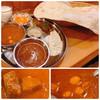 シェフハラールカレー - 料理写真:Aセット(カレーはマトン・ひよこ豆)