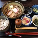 魚と酒菜 とき和 - 鴨南蛮そば定食