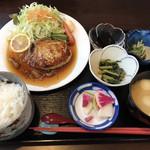 魚と酒菜 とき和 - 蓮根つくねハンバーグ定食