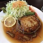 魚と酒菜 とき和 - 蓮根つくねハンバーグ