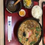長助 - 松阪煮込み定食 1550円(税込)
