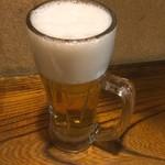 九州 熱中屋 - 生ビール