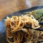 甲子園三代目 あつい飯 - ムチムチの麺