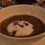 98559245 - マッシュルームスープ カプチーノ仕立て トリュフの香り