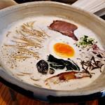 98559819 - 鶏白湯version6~泡・きのこ~ 900円