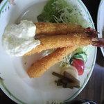 すばる - 料理写真:エビフライ 1300円 本日はサービスディー1100円