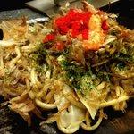 風花 - 料理写真:ミックス焼きそば(塩)