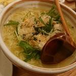 米鶏食堂 - 〆のラーメン