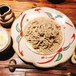 手打ちそばたか木 - 料理写真:『ざる(大盛り)』様(750円+300円)