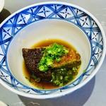 あんだん亭 - お店がある恵庭市と友好都市の提携をしている静岡県藤枝市のしいたけ「玉取茸」の海老しんじょう