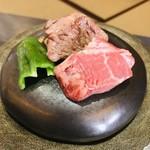 あんだん亭 - 松阪牛 石焼