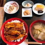 左可井 - 穴子丼セット