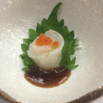 卯月 - 真鯛は柚子こしょうを溶いた醤油で