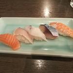 だんまや水産 - おまかせ にぎり寿司(2018.12.15)