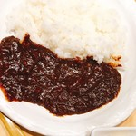 98569477 - スーパー山賊焼定食 1,280円 のカレーライス                       山賊焼、小鉢、鶏スープ付