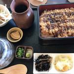 ソウルフーズ - 料理写真:東浦みそかつまぶし定食