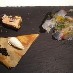 ヤマガタ サンダンデロ - 山形県産食材前菜3種盛り合わせ