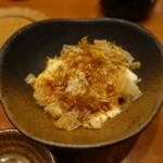魚 枡 - 汲み出し豆腐(スタート16分後に登場)
