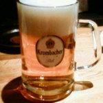 燻製と地ビール 和知 - クロンバッハピルス樽生 大ジョッキ