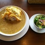 サッドカフェ - 料理写真:オムレツカレーランチ