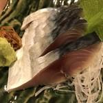 鮨台所 魚信 - 金華〆サバ