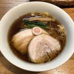 ラーメン屋 トイ・ボックス - 「特選素材の中華そば」1200円