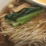 ラーメン屋 トイ・ボックス - 新麦の麺