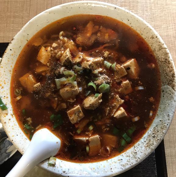 四川小厨 - 麻婆麺。 旨し。