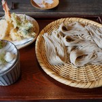 98584476 - 天ぷらと蕎麦