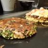もんじゃ焼き 美々也 - 料理写真:ねぎ焼きとモダン焼き