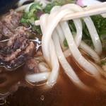 98588354 - ぷりっぷりのおいしい麺。