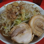 ラーメン二郎  - 料理写真:小750円。野菜アブラ。