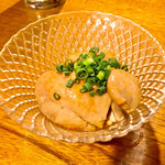 居酒屋 ぴょん吉 - あん肝生姜煮650円