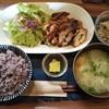 喫茶 オルオル - 料理写真:週替わりランチ(鶏胸肉の大葉とチーズのはさみ揚げ)@810