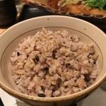 大戸屋 - 五穀米を選びました