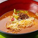 開花 香港海鮮バル - チーズカレー麺