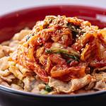 開花 香港海鮮バル - キムチ豚丼