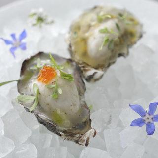 【厚岸の牡蠣】を使用した絶品料理を召し上がれ