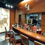 麺匠 竹虎 - 麺匠 竹虎 六本木店 個室が沢山用意される店内