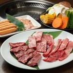 焼肉 啓 HIRO - おすすめセット 3,680円(税別)