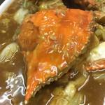 廣東DINING TAKU - 渡蟹の白菜生姜炒め
