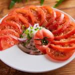 ひんやりトマトスライス