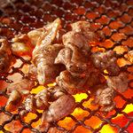 種鶏ももの本格炭火焼き
