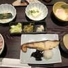 とんかつ濱かつ - 料理写真:銀ひらすの西京焼き(864円:税込)・・銀ひらすの西京焼き、お漬物、小鉢3種、ご飯、お味噌汁などのセット。