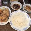 らーめん亭 - 料理写真:唐揚げ3個の定食セット これで900円
