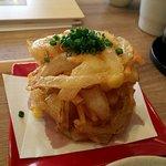 白金魚食堂 - かき揚げ(アップ)