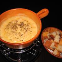 チーズフォンデュのブルーパロット - チーズフォンデュー 1人前 ¥1,800-