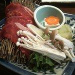 Shokusaiarakawa - 昼の膳(牛肉しゃぶしゃぶ)